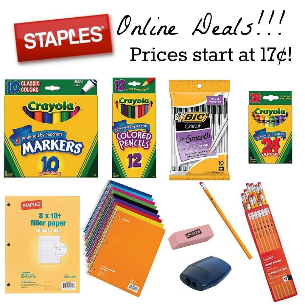 Staples is a retailer of offices supplies including but not limited to fastening devices. Staples sells supplies like binders, pens & pencils, punches, scissors and tape.