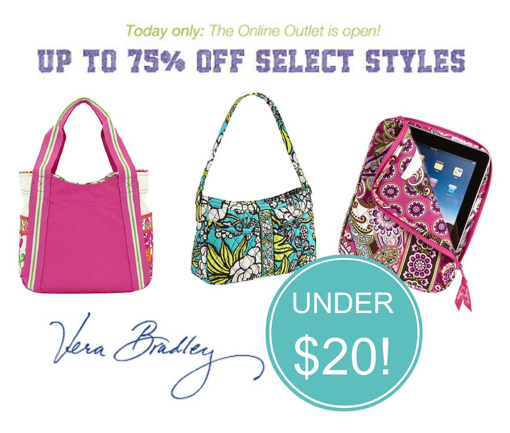 Vera Bradley Outlet Sale Today Only Items Under 20
