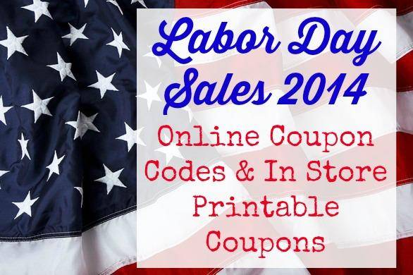 Labor day sales printable coupons 2018