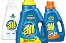 Printable All Laundry Detergent Coupons