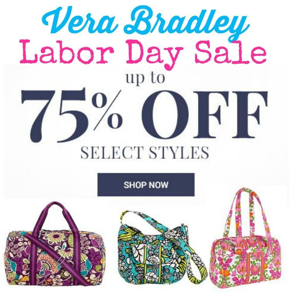 Vera Bradley Labor Day Sale