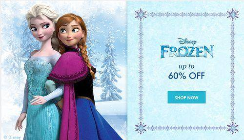 frozen sale