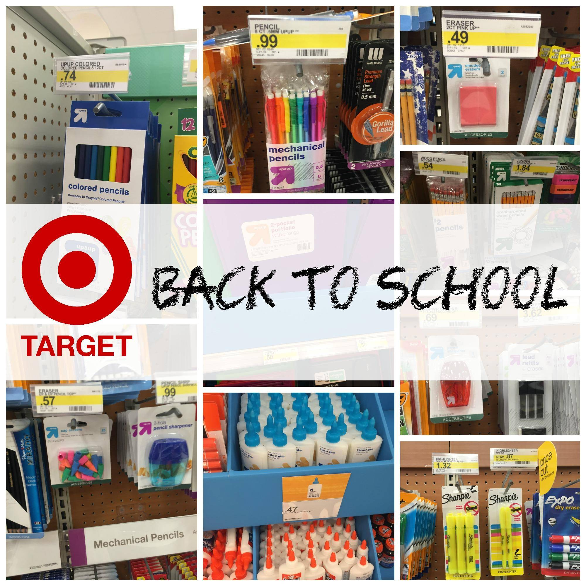Target Back to School Deals 2016 | School Supplies ...