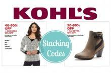 Online Kohl's Coupons