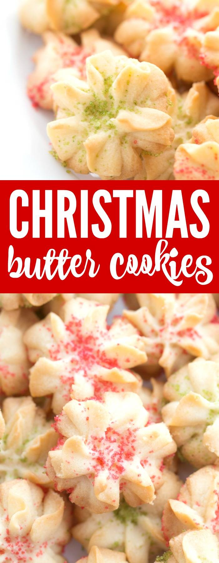 Christmas Butter Cookies Recipe Easy Cookie For Co Workers Neighbors