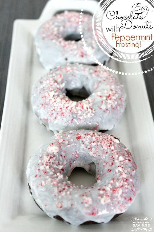 Easy Chocolate Donuts Recipe