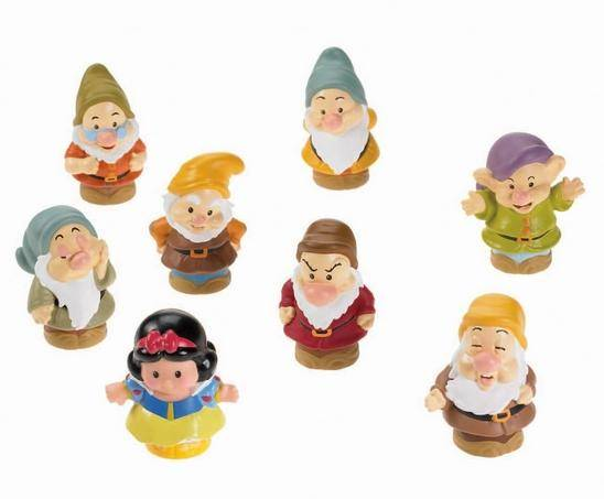 Little People Disney Snow White and the Seven Dwarves