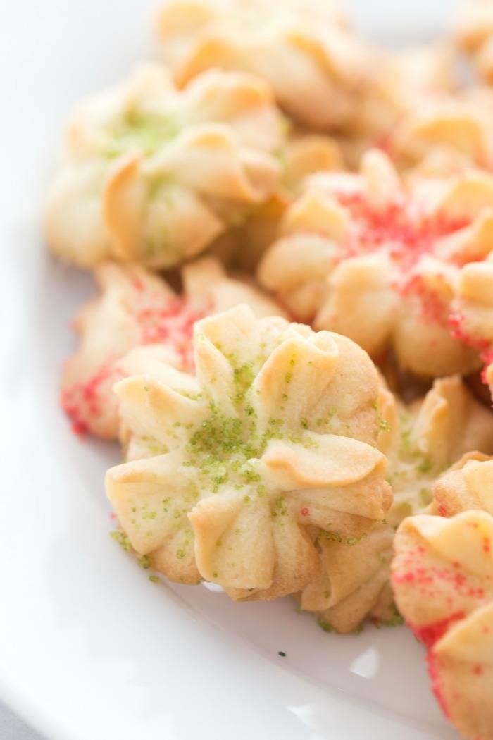 Spritz Butter Cookies Easy Recipe