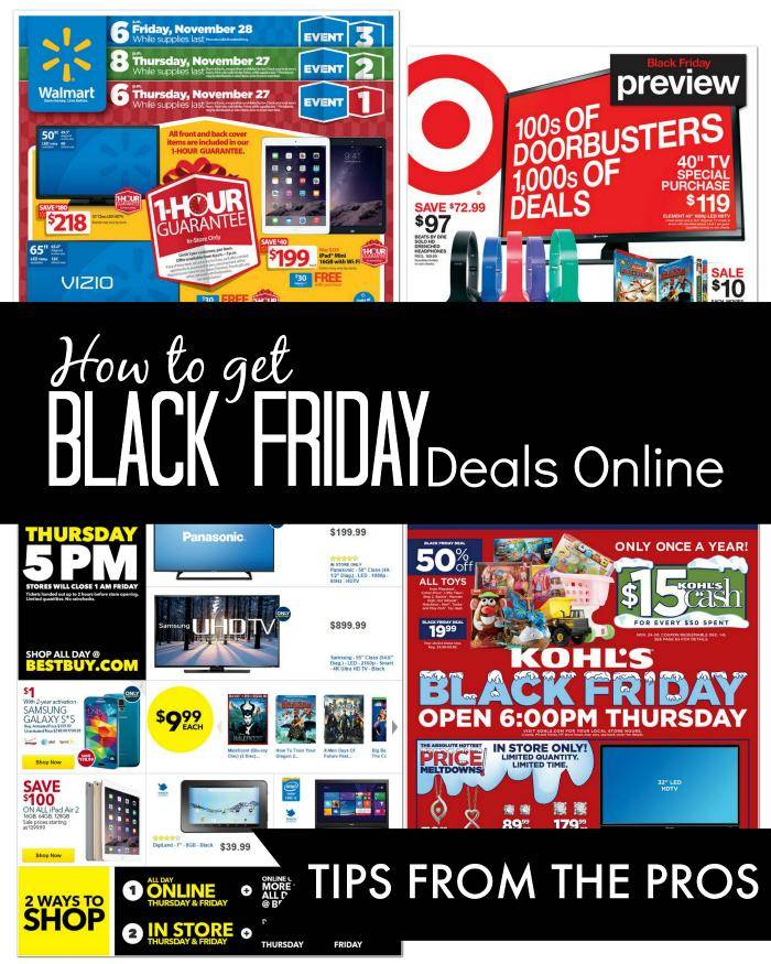 how to get black friday deals online