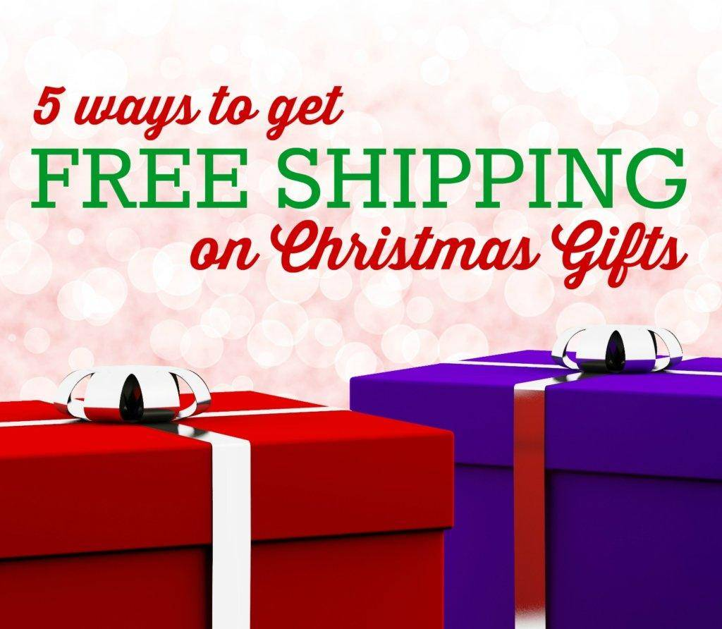 how to get free shipping on christmas gifts