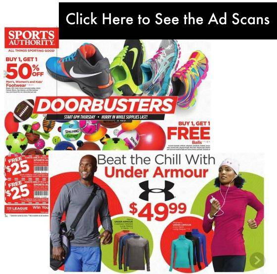 sports authority black friday ad scans