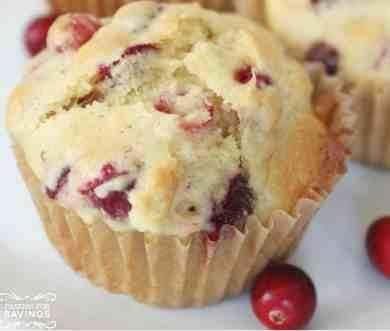 Easy Homemade Cranberry Muffins Recipe 1