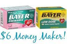 Bayer Insert Coupons