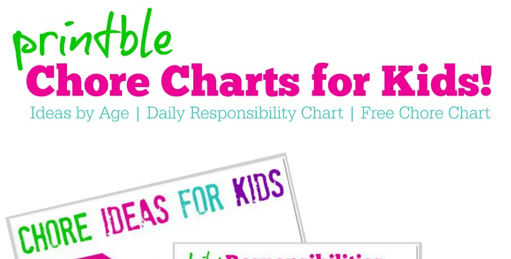 photo relating to Printable Charts identify No cost Printable Chore Charts for Little ones + Programs through Age