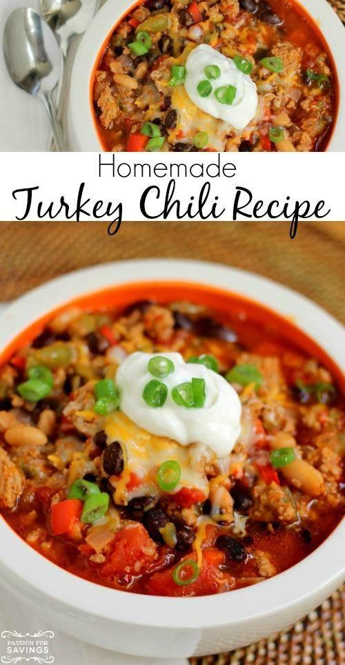 Healthy Turkey Chili Recipe