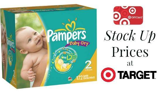 Pampers coupon codes target