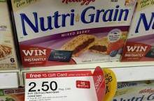 Special K NutriGrain Bars Coupon