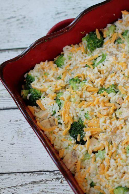 Broccolli Chicken Rice Freezer Meal