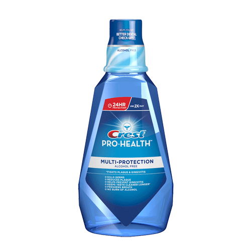 Crest Pro-Health is a wonderful mouthwash made for tattar protection. It has a wonderful taste of Refreshing Mint. It is a pretty aqua-like color. Use 2x a day for best results. It is a ML ( FL OZ). Great price for what the product offers. [This review was collected as part of a promotion.]/5().
