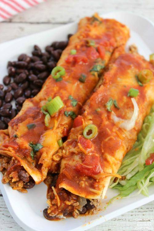 Easy Beef Enchiladas for Dinner