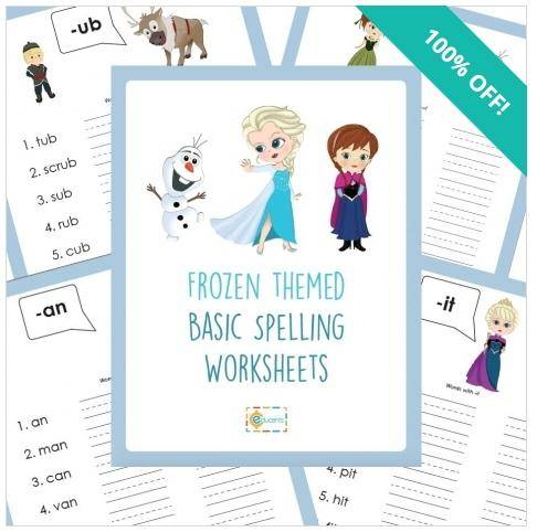 Free Disney Frozen Worksheets