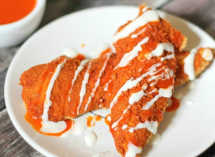 Baked Buffalo Chicken Strips Recipe