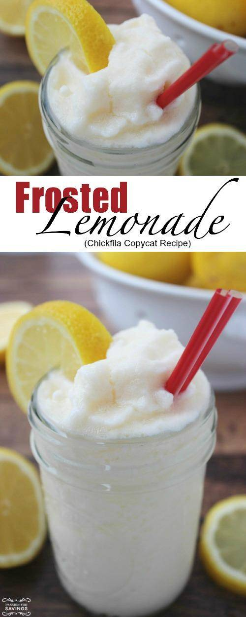 Frosted Lemonade Recipe