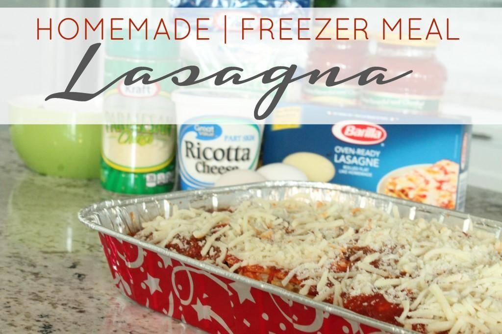 homemade lasagna recipe image