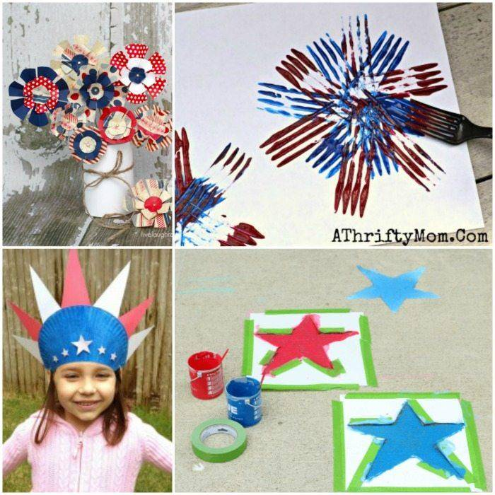 Here are some fun 4th of July Crafts for Kids that you can try!