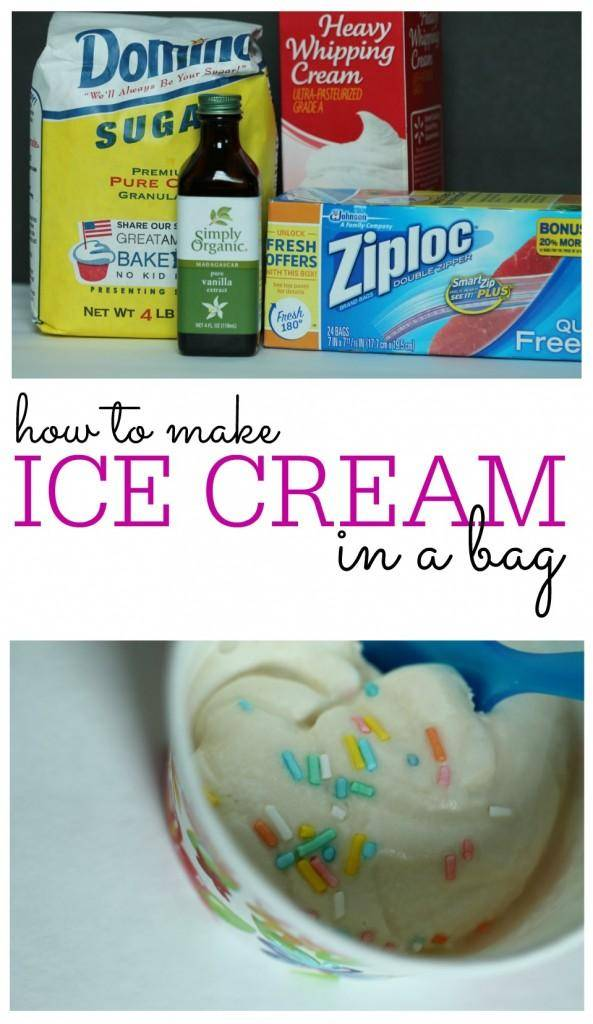 how to make ice cream in a bag 2