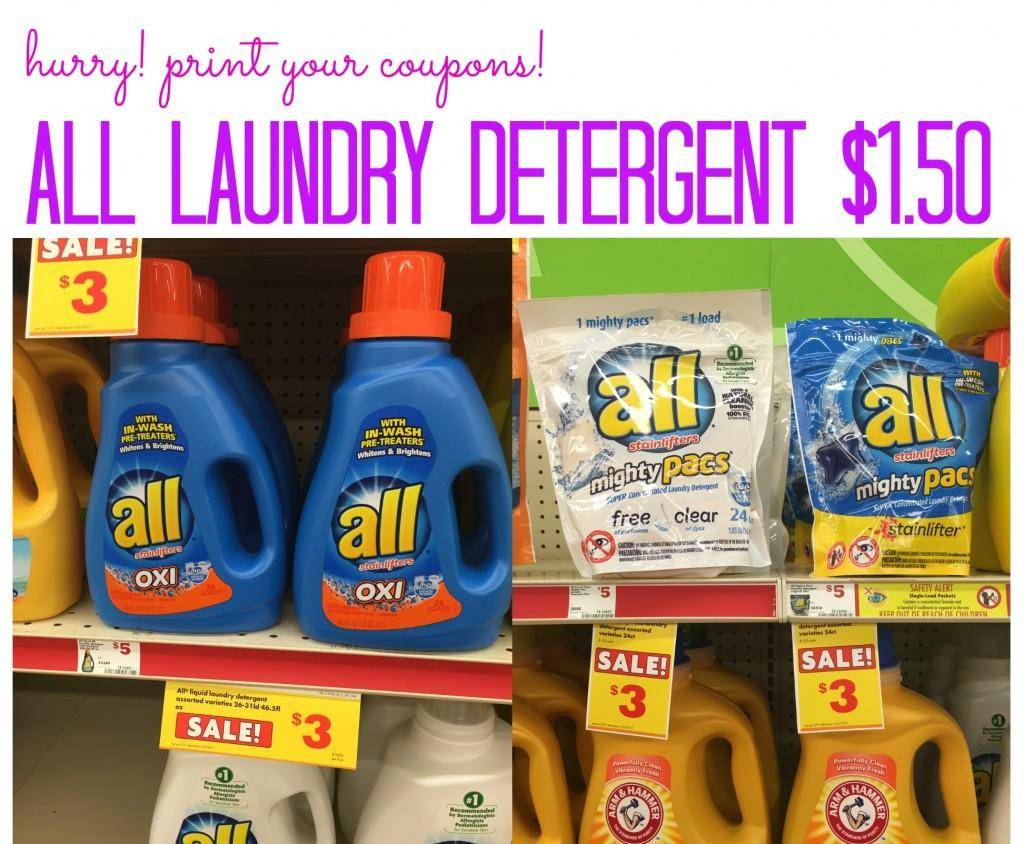 All Laundry Detergent 150