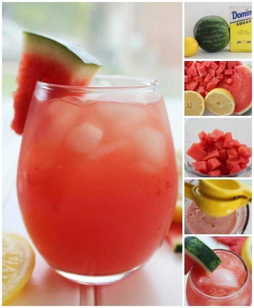Watermelon Lemonade Drink Recipe