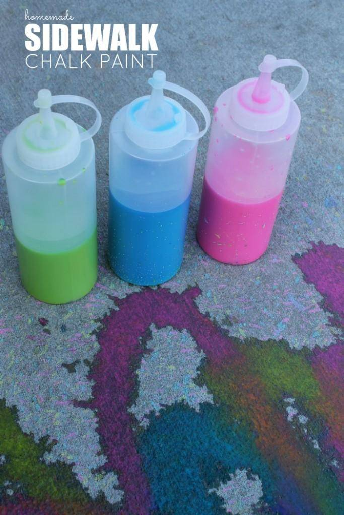 instruction of making a sidewalk chalk Have you tried making chalk paint using red paint  hi, i read your article on how to make chalk paint & am about to make & use your recipe.