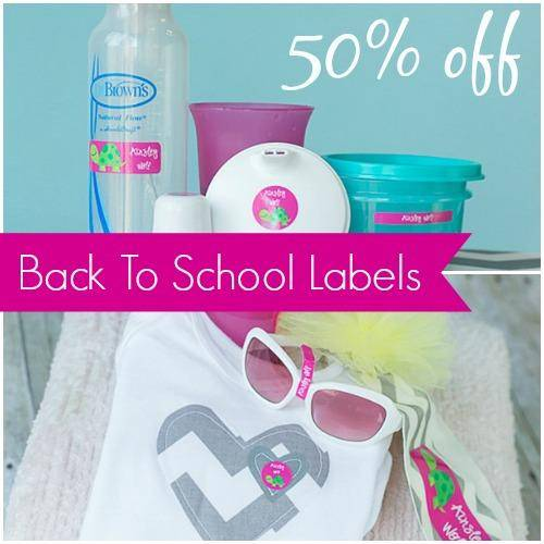 Labels for Back to School