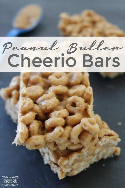 Peanut Butter Cheerio Bars Recipe