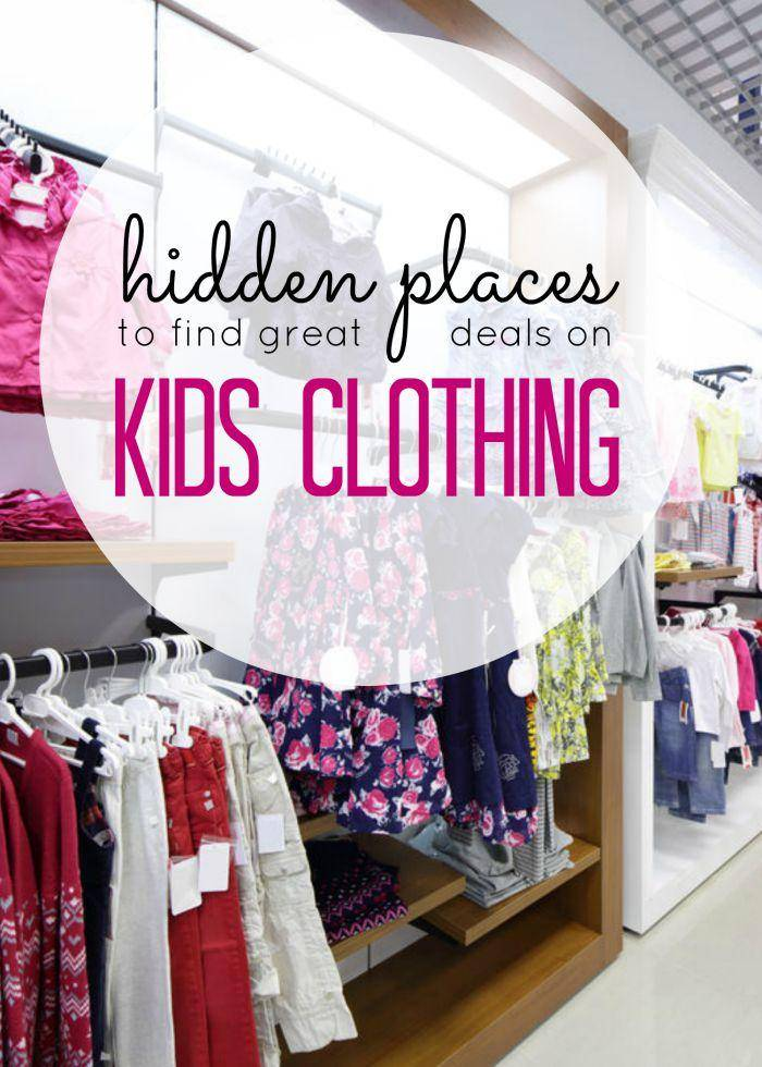 kids clothing deals