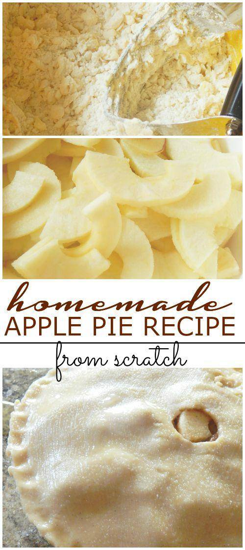 Homemade Apple Pie Recipe from Scratch Homemade