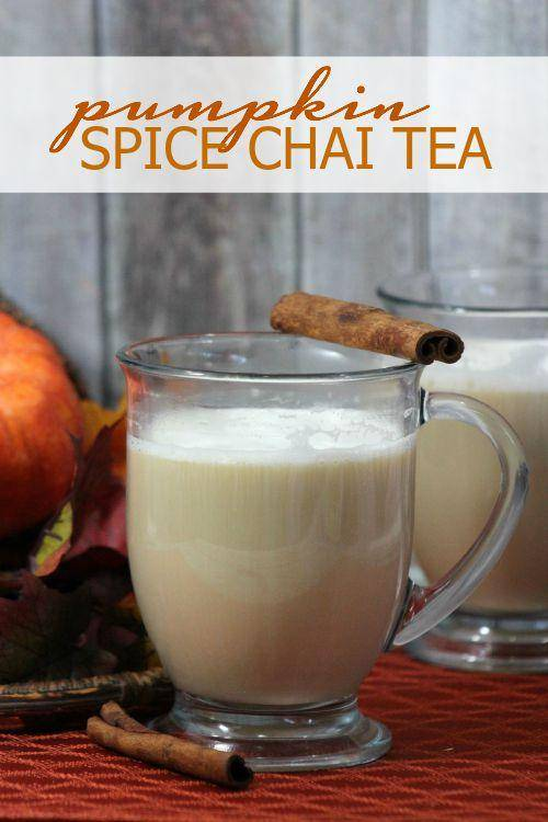 Pumpkin Spice Chai Tea