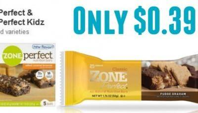 Zone energy bars coupons