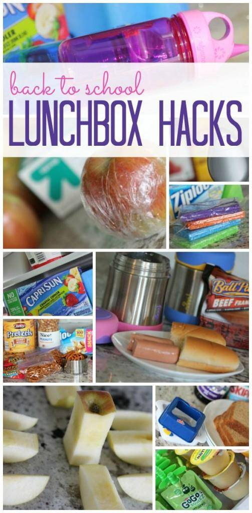 back to school lunchbox hacks