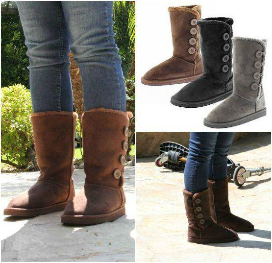 Women's Button Boots