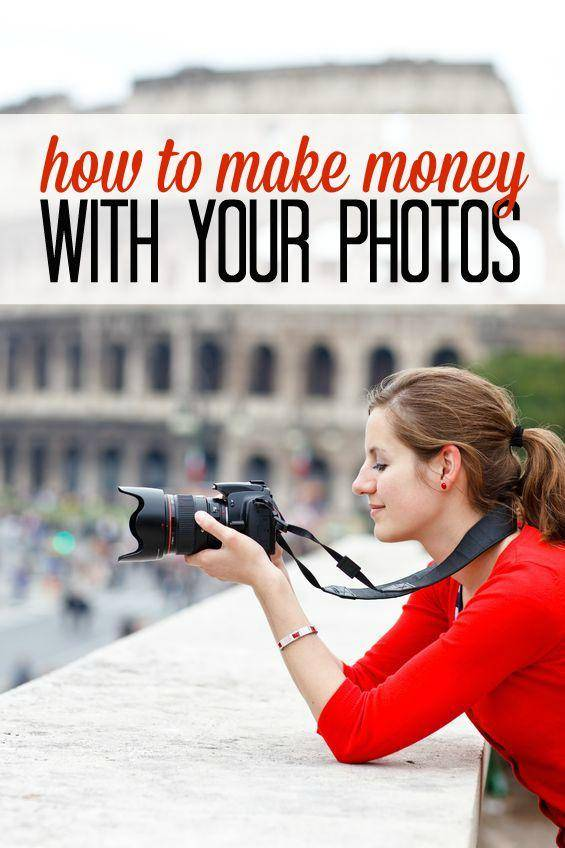 how to make money with photos