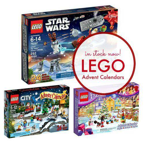 LEGO Advent Calendars In Stock! LEGO Friends, City, & Star Wars