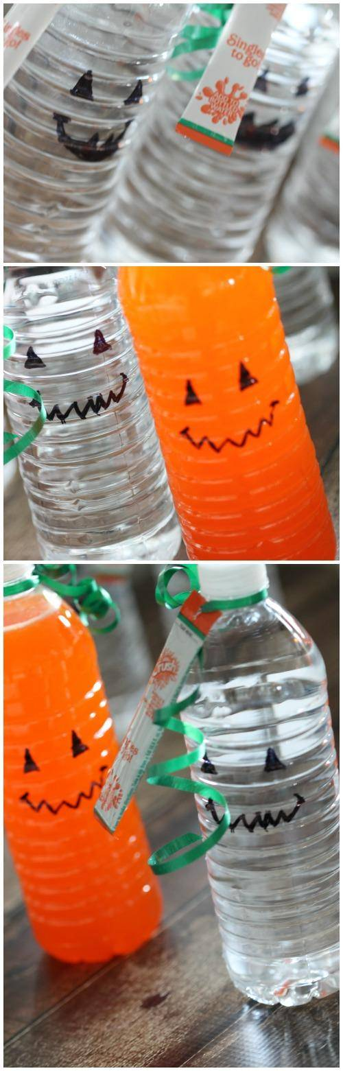 Orange Crush Pumpkins Craft for Halloween and Thanksgiving! Pumpkin Gifts for Kids for Fall and Class Parties!