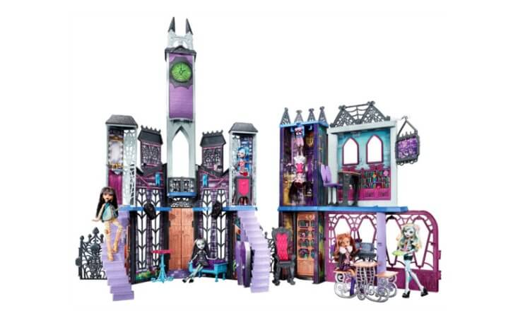 Best Price On The Monster High Deadluxe High School Playset