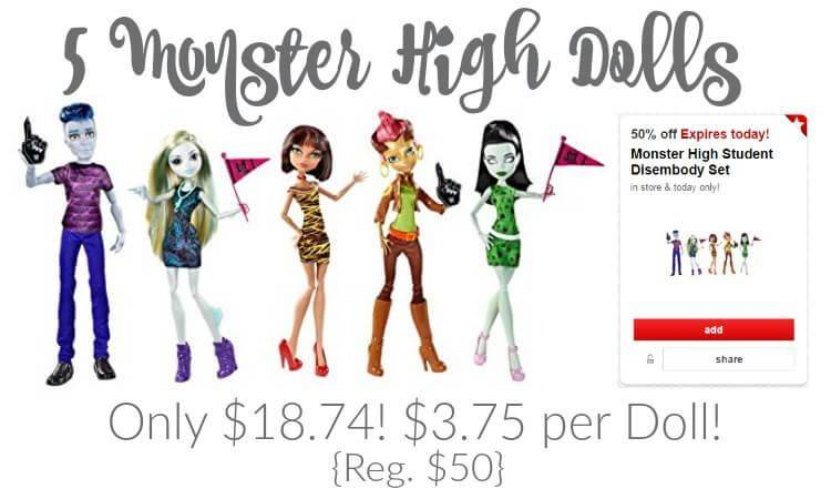 Monster High Student Disembody Set