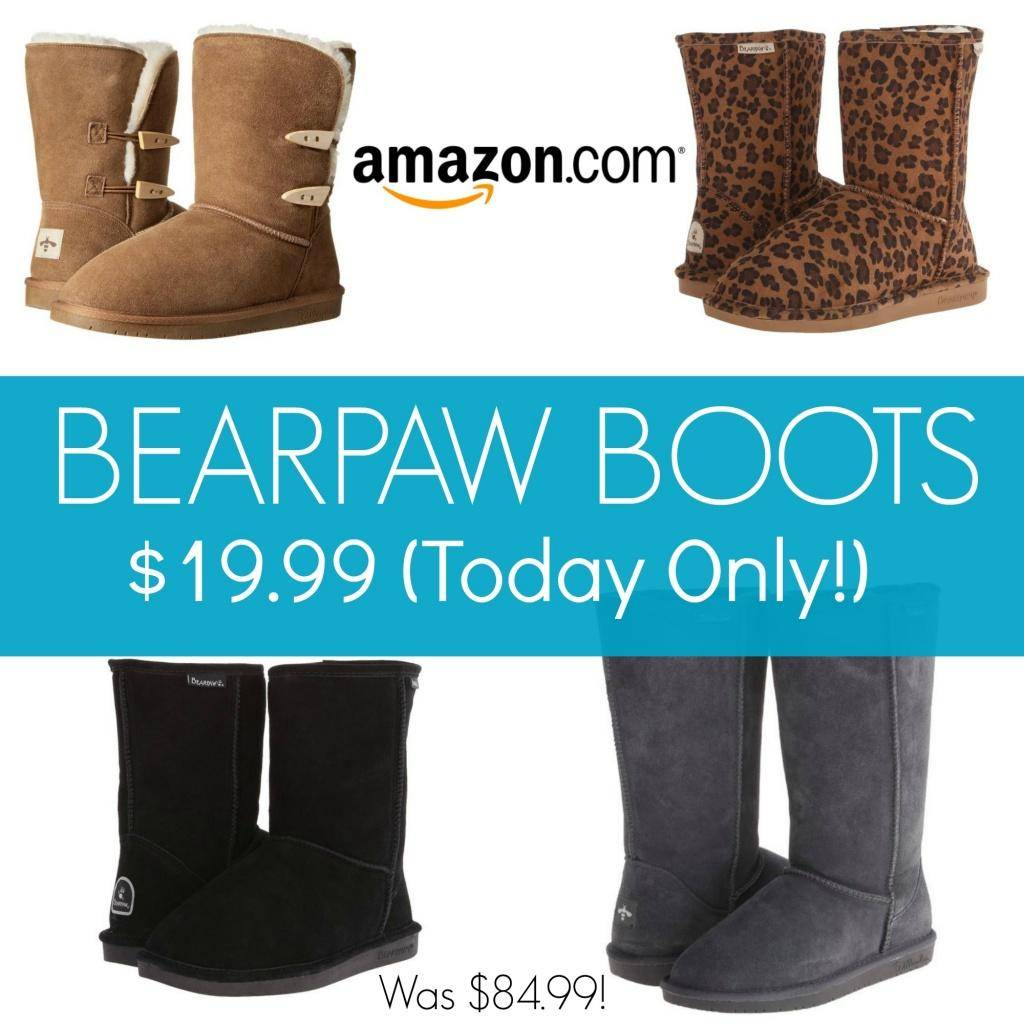 bearpaw womens boots 19 99 was 85