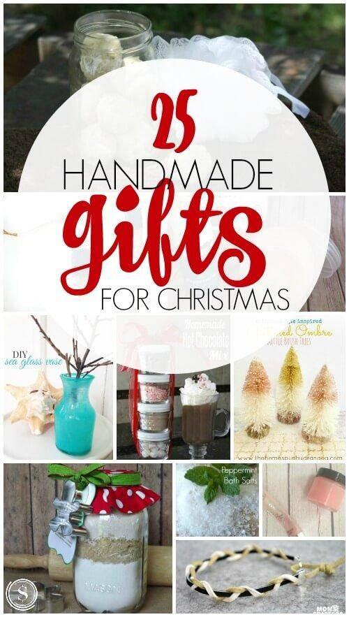 25 Handmade Gifts for Christmas