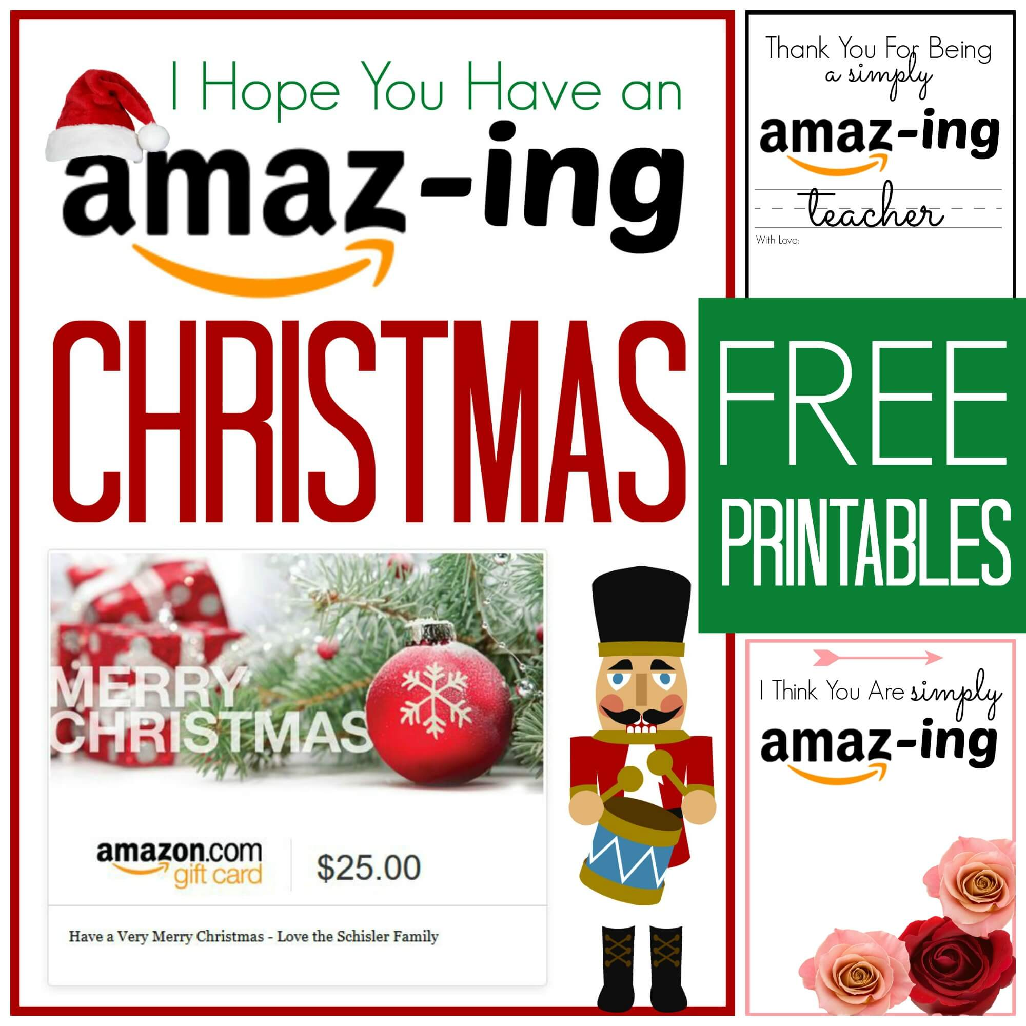 Revered image within amazon printable gift card