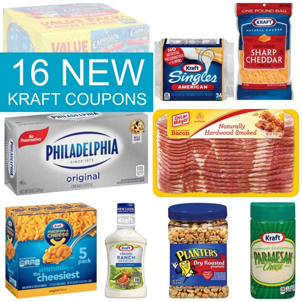 New Kraft Coupons Today